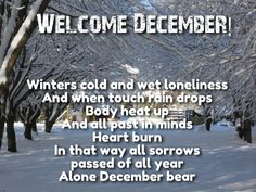 Hello and Welcome December Wishes with Images - Love Quotes Welcome December Images, December Quotes Images, Hello December Quotes, December Wishes, Unique Quotes, Romantic Quotes, Love Quotes For Her, Cute Love Quotes, Best Short Quotes