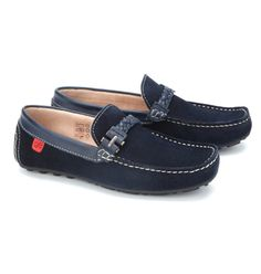 Buy Loafers for Boys Baby - Footwear - Cecillio Blue Loafers Online India | The Little Shopper