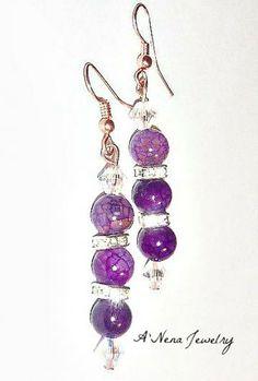 Appreciation Earrings Fire Agate. by ANenaJewelry for $30.00