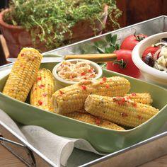 Italian Grilled Corn