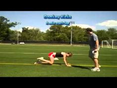 Runners Core Routine - YouTube - This also has some of the hip strengthening moves in it.