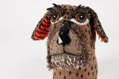 tabitha cottrill - textile dog