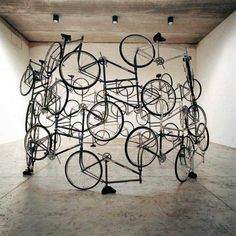 Sculpture by Ai Weiwei. Marvelous