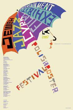 "Polish Poster Festival LA 2007  2006  24""x36""  artist: Konopelski, Leonard"