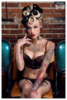 """These tattoo photos were sourced from """"Urban Inked Girls"""" Facebook page"""