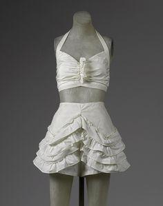 Beachwear (bikini) [American] (1985.364.12a,b) | Heilbrunn Timeline of Art History | The Metropolitan Museum of Art