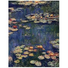 Claude Monet Water Lillies Canvas Print