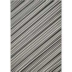 Safavieh Monroe Black Rug (8' x 11'2) (MNR159C-8) (Polypropylene, Geometric)