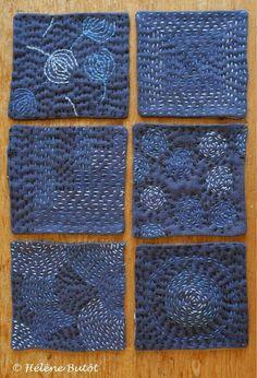 how to boro quilt sashiko Sashiko Embroidery, Japanese Embroidery, Embroidery Art, Embroidery Stitches, Embroidery Patterns, Embroidery Techniques, Embroidery Scissors, Embroidery Dress, Quilt Patterns