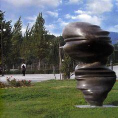 Cast Glances by Tony Cragg, 2002_ Parco Internazionale della Scultura MARCA _ Catanzaro (IT)
