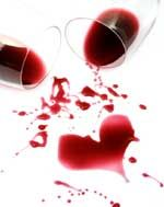 A wine heart from #ValentinesDay