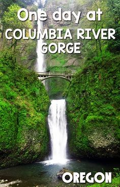 Visiting Oregon? Then you can't miss the Columbia River Gorge, just 30 minutes from Portland. Click through to read about visiting the Gorge and Scenic drive in one day via @mytanfeet