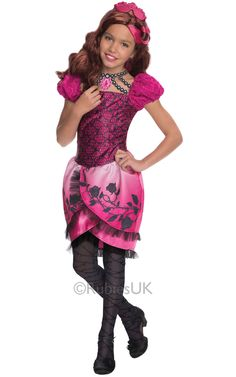 Look at this Ever After High Briar Beauty Deluxe Dress-Up Set - Kids on today! Halloween Costumes For Girls, Cool Costumes, Halloween Makeup, Women Halloween, Halloween Projects, Halloween Halloween, Halloween Decorations, Children Costumes, Halloween Season