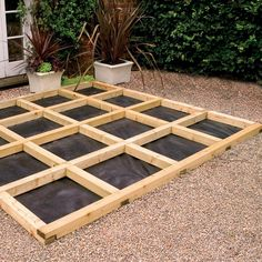 how to build a floating deck on dirt