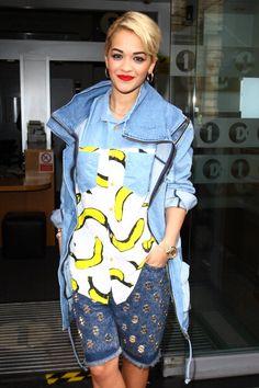 Rita Ora street style.