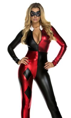 7e879d437e Jazzy Jester Sexy Comic Book Character Costume