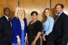 Our Leadership (l - r) Favrol Philemy, Jen Gowers, Amanda Huza, Caitlin Franco, Gabriel Park