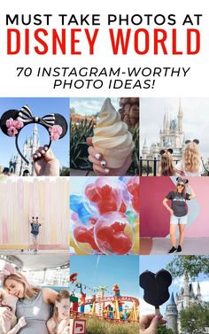 must take photos at Disney World - 70 Instagram-worthy photo ideas! I love all of these Disney World Photo ideas #disneyworld #disneytips #disney