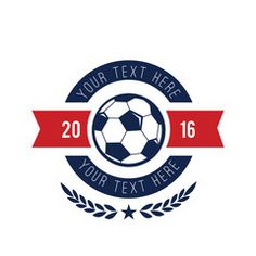Football Logosoccer Logosports Logo Template Fc Silver