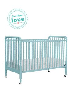 The versatile DaVinci Jenny Lind 3-in-1 crib grows with your baby into a toddler bed or daybed.