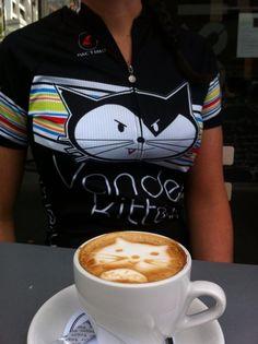Cycling VanderKitten Team Coffee