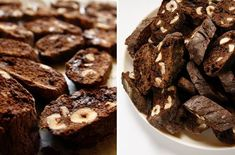 Chez Mazilique: Biscotti / cantucci with chocolate and hazelnuts