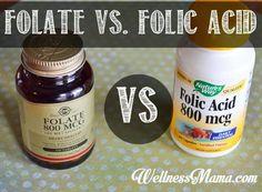 Folate vs folic acid during pregnancy
