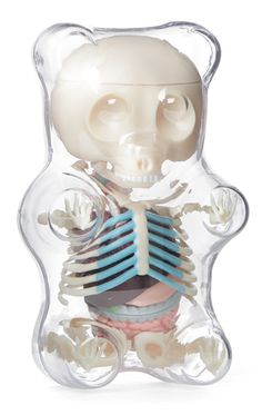 Anatomy Gummy Bear (Clear) from Inked Shop. Shop more products from Inked Shop on Wanelo. Anatomy Models, Inked Shop, Modelos 3d, E Mc2, Inked Magazine, Vinyl Toys, Gummy Bears, Designer Toys, Creations