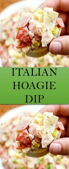 Appetizer Dips, Appetizers For Party, Appetizer Recipes, Dip Recipes, Keto Recipes, Cooking Recipes, Yummy Recipes, Keto Foods, Hoagie Dip