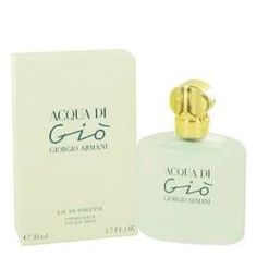 Acqua Di Gio Eau De Toilette Spray By Giorgio Armani. Acqua Di Gio Perfume by Giorgio Armani, Acqua di gio, a blend of warm, transparent flowers touched by an ocean breeze. Inspired by a mediterranean island refuge, it captures the essence of paradise.