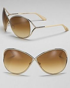 For this summer, the color in is the gold and I just purchased this sun glasses by Tom Ford they are so chic and beautiful that I just have to have it!