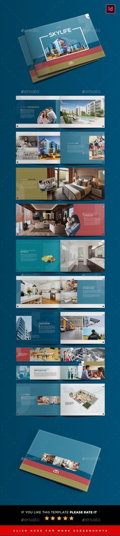 Real Estate Brochure Template PSD. Download here: https://graphicriver.net/item/real-estate-brochure-template/21870119?ref=ksioks