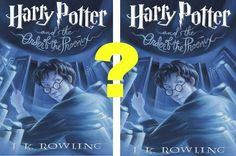 "Can You Identify The Real ""Harry Potter"" Covers From The Fake?"