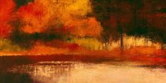 North River -  acrylic on canvas- irma cerese