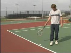 Tennis Lessons for Beginning Players : Tennis Court Layout & Lines