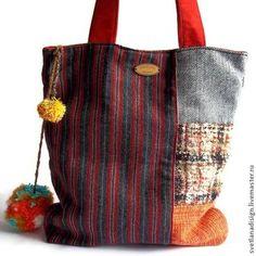 Женские сумки ручной работы. Ярмарка Мастеров - ручная работа. Купить стильная сумка. Handmade. Разноцветный, сумка ручной работы