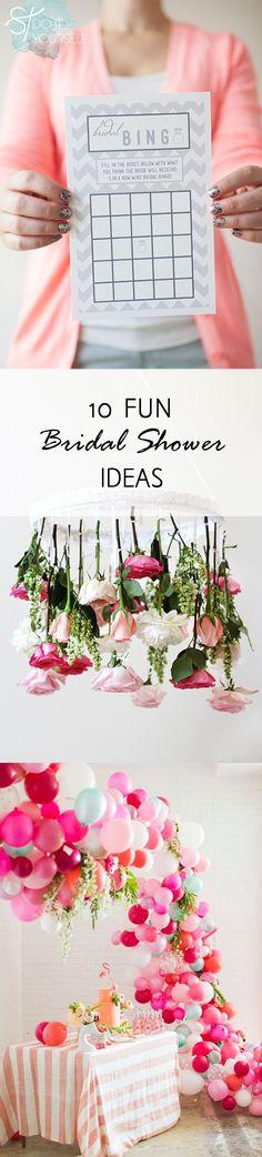 10 Fun Bridal Shower Ideas