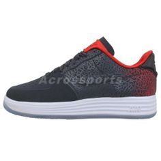 brand new 16278 44615 Nike Lunar Force 1 LUX VT Low Grey Red Elephant Print Mens Casual Shoes Air  AF1