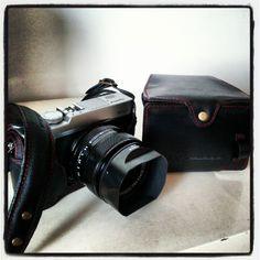 Full leather case for Fujifilm XE-1