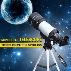 Professional Astronomical Telescope With Tripod //Price: $40.00 & FREE Shipping //     Buy Now at https://www.pcpmart.com/professional-telescope-astronomical-monocular-with-tripod-refractor-spyglass-zoom-high-power-powerful-for-astronomic-space/    #pcpairgun