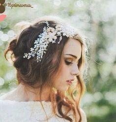 Uma versão mais sofisticada das coroas de flores <3