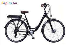 """A Neuzer elektromos kerékpár egy prémium minőségű anyagok felhasználásával létrejött termék.    Jellemzői:  - Kerékméret: 28""""  - Vázméret: 19""""  - Váz: AL6061 Alu nagy teherbírású  - Villa: Mozo teleszkóp 28""""  - Első fék: Alhonga V-Fék  - Hátsó fék: Alhonga V-Fék  - Hajtómű: Prowheel Alu/Alloy 170MM 38T  - Hátsó váltó: Shimano TZ50 6SPD  - Váltókar: Shimano RS35 Revoshift 6SPD  - Első agy: Mxus XF06 Agymotor  - Hátsó agy: Assess Alu/Alloy  - Felnik: Mach ER-10 28"""" Duplafalú  - Köpeny / Gumi… Trekking, Bicycle, Vehicles, Bicycle Kick, Bike, Trial Bike, Hiking, Bicycles, Vehicle"""