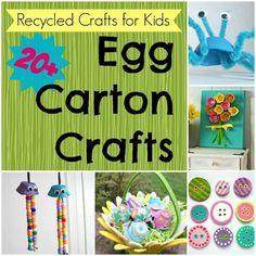 Egg carton crafts