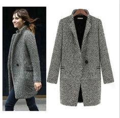 Femme-Manteau-Longue-Parka-Trench-Coat-Jacket-Pardessus-Blouson-Veste-Coupe-vent                                                                                                                                                                                 Plus