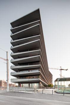 Lacroix Chessex maison des etudiants . geneva #architecture
