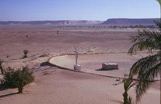 His tomb at ElGolea, central Sahara
