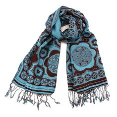Circle Print Scarf at The Maverick Western Wear