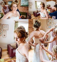 Birmingham Wedding Photographer Waves Photography, Farm Wedding, Daffodils, Beautiful Bride, Birmingham, One Shoulder Wedding Dress, Brides, Flower Girl Dresses, Couples