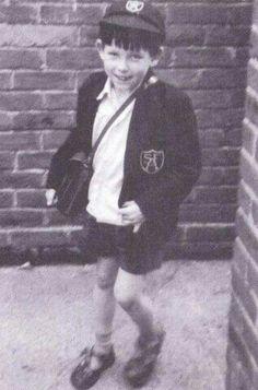 A young Robert Smith
