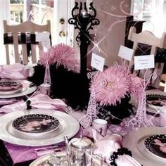 black goes with everything, especially well with pink though as usual